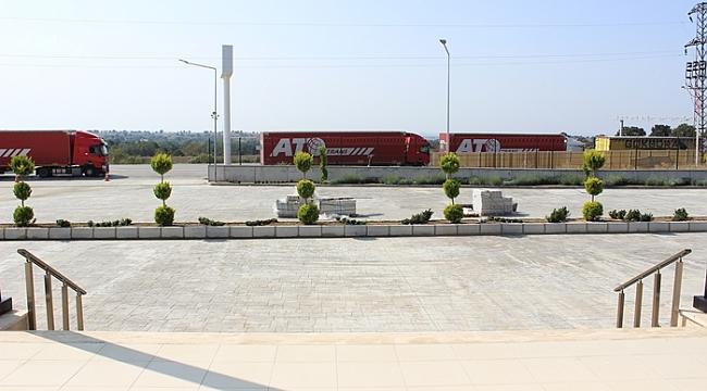 Hamzabeyli'ye 240 tır kapasiteli park