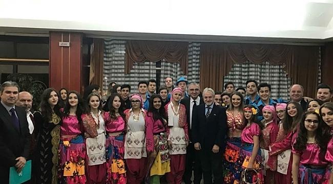 EDİRNE BELEDİYESİ HALK OYUNLARI EKİBİ KARADAĞ'I FETHETTİ