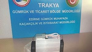 "KAPIKULE'DE ""BİTCOİN"" OPERASYONU"