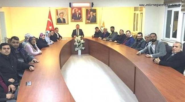 AK PARTİLİLER AFRİN'E GİDİYOR