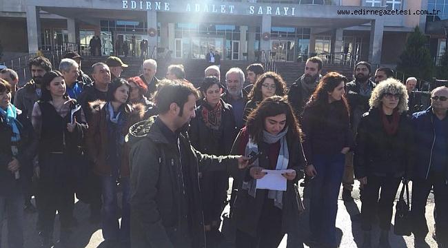 """""""EDİRNE GERİCİLİĞE TESLİM OLMAYACAK"""""""