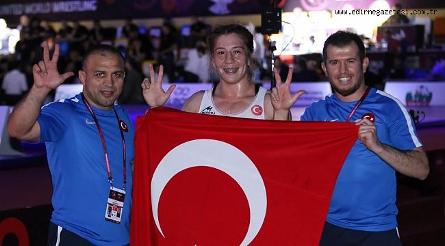 Yasemin Adar,  3'üncü defa Avrupa Şampiyonu