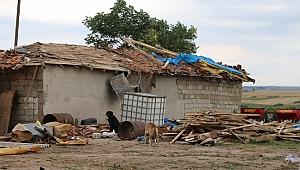 Edirne'de şiddetli fırtına