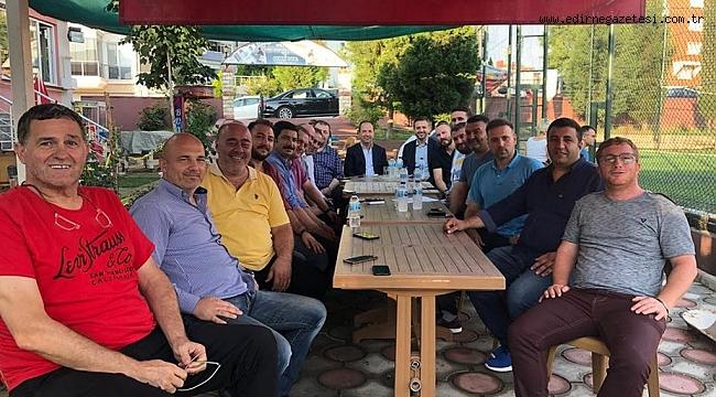 GÜRKAN'DAN  EDİRNESPOR'A TAM DESTEK