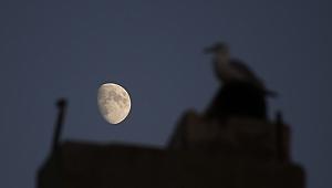 Tekirdağ'da şişkin ay