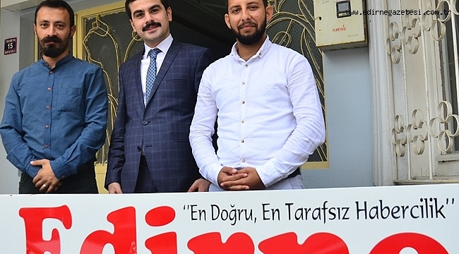 SAFİR'DEN GAZETEMİZE ZİYARET
