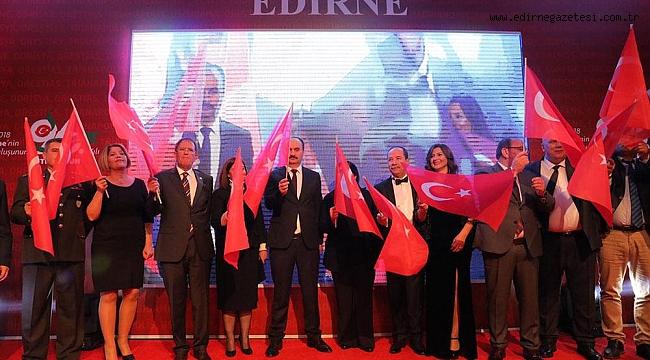 """""""BİZ EDİRNE'Yİ CANIMIZ GİBİ, KANIMIZ GİBİ SEVİYORUZ"""""""