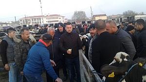 Havsa Belediye Başkanı Balkan'dan ziyaret