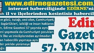 GAZETEMİZ 57 YAŞINDA
