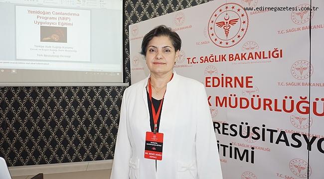 """SAĞLIKÇILARA """"YENİ DOĞAN CANLANDIRMA EĞİTİMİ"""""""