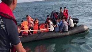 Meriç Nehri'nde 40 göçmen yakalandı