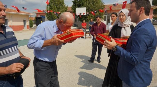 MERİÇ'TE ŞEHİTLERİN İSİMLERİ SINIFLARDA YAŞATILACAK