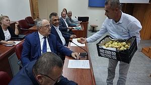 MECLİS ÜYELERİNE JEST