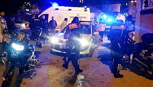 2 POLİS MEMURU YARALANDI