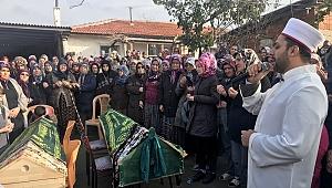 BABAANNE VE TORUNUNUN CENAZESİ DEFNEDİLDİ