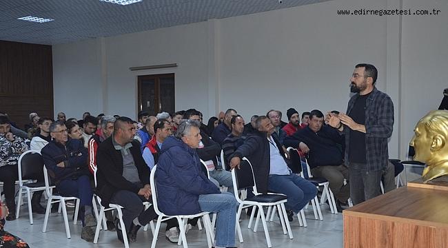 ETUS ŞOFÖRLERİNE ÖFKE KONTROLU KONFERANSI VERİLDİ