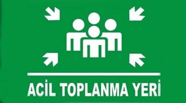 EDİRNE'DEKİ TOPLANMA ALANLARI