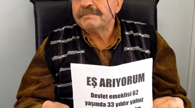 İLANLA EŞ ARIYOR
