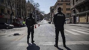 81 ilde 4 günlük sokak kısıtlaması başladı