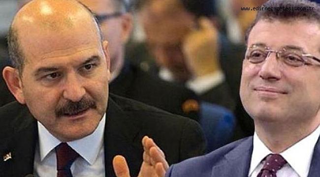 İmamoğlu'dan Bakan Soylu hakkında suç duyurusu