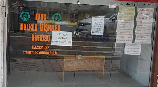 ETUS BÜROSU HER PAZARTESİ HİZMETTE