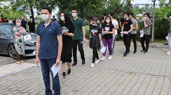 MSÜ Askeri Öğrenci Aday Belirleme Sınavı'nda Kovid-19 tedbirleri alındı