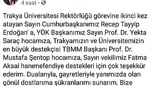 CHP'DEN SALVOLU TEBRİK