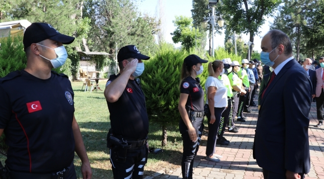 VALİ CANALP'TEN BAYRAM ZİYARETLERİ