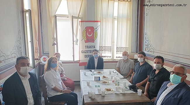 AK PARTİ'DEN TGD'YE ZİYARET