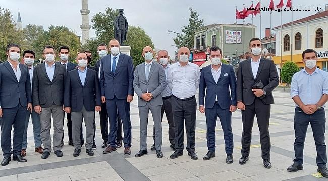 DEVA PARTİSİ EDİRNE'DE İDDİALI