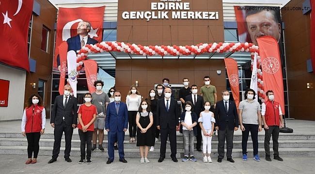 ERDOĞAN'DAN EDİRNE'YE TEBRİK