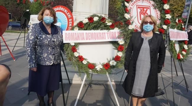 CUMHURİYET BAYRAMI'NI EDİRNE'DE KUTLAMAK BİR ONURDUR