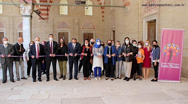 'EDİRNE İŞİ' SERGİLENMEYE BAŞLANDI