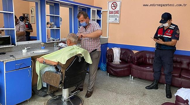JANDARMADAN KOVİD-19 DENETİMİ