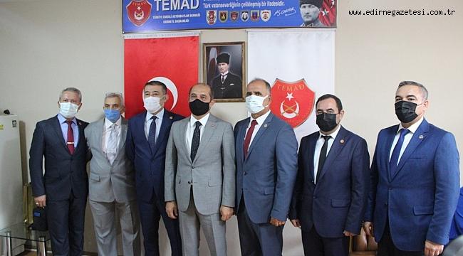 """TEMAD """"AZERBAYCAN TÜRKLERİNİN YANINDAYIZ"""""""