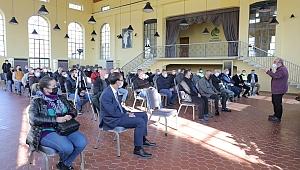 TAKSİCİ ESNAFI İLE COVİD-19 TOPLANTISI YAPILDI