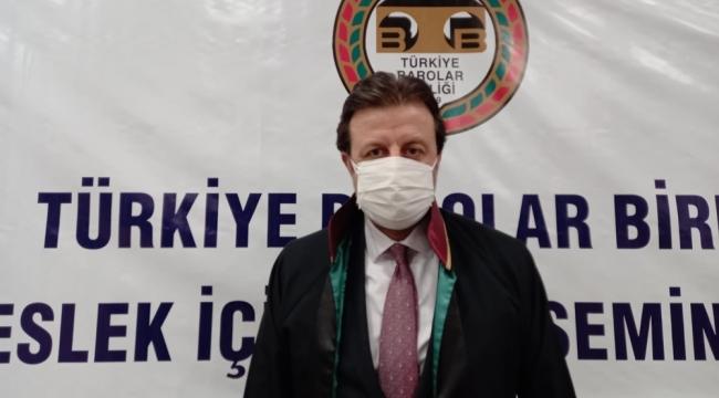 BARO BAŞKANI PINAR, BARO SEÇİMLERİ HAKKINDA KONUŞTU