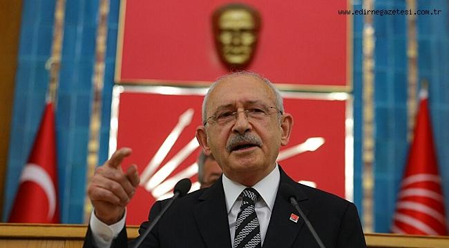 KILIÇDAROĞLU PAZAR GÜNÜ EDİRNE'DE
