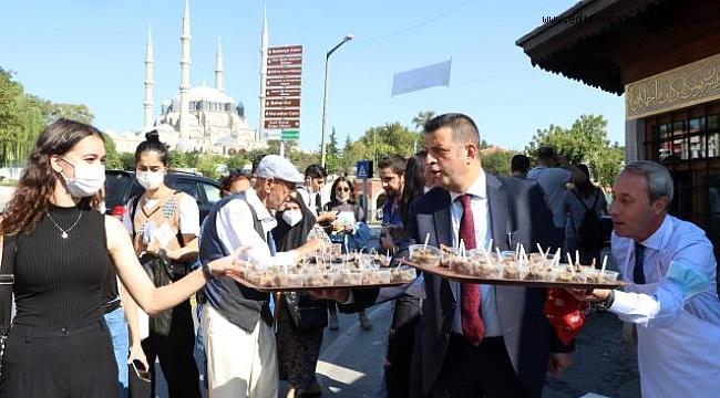 EDİRNE'NİN TURİZMDEN ALDIĞI PAY HER YIL ARTTIYOR