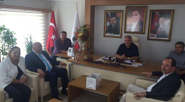 Gürkan'dan Akmeşe'ye ziyaret