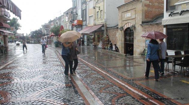 Haziran yağmuru serinletti