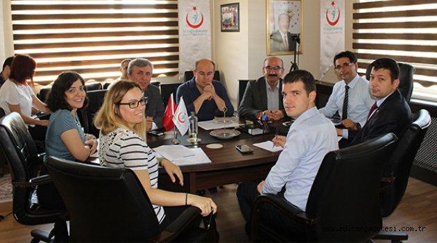Sağlık Komitesi Kırkpınar için toplandı