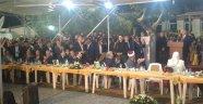 Başbakan komşuda iftara katıldı