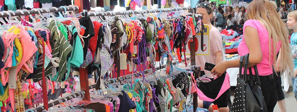 Pazarın gözdesi bikiniler