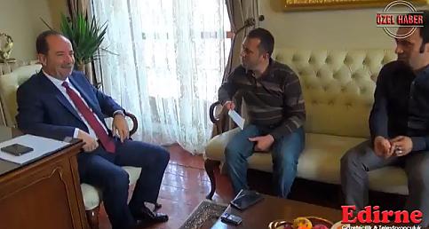 Recep Gürkan Edirne Gazetesi Özel Röportajı